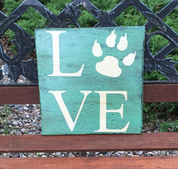 """This handmade distressed wooden sign is 12"""" x 12"""" in size*. It has a teal background with white lettering. This sign has a saw tooth hanger and is finished with a satin poly coat. If you're interested"""