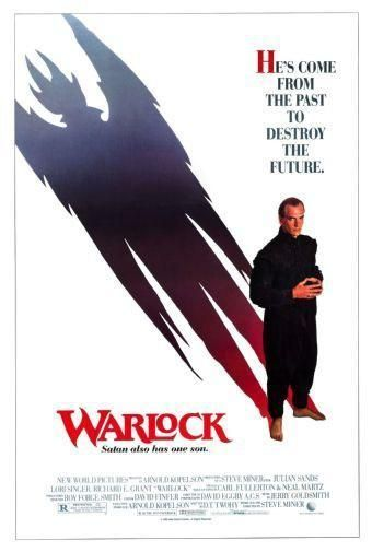 Warlock Movie poster Metal Sign Wall Art 8in x 12in