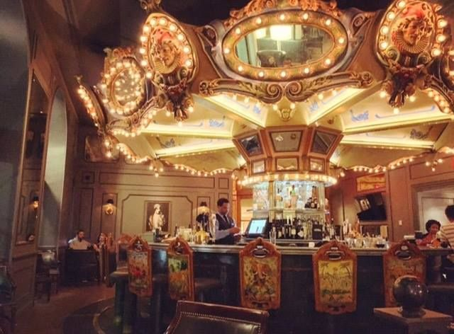 The moment you realize our Carousel Bar actually spins: priceless. Photo: @monsieyrluigi