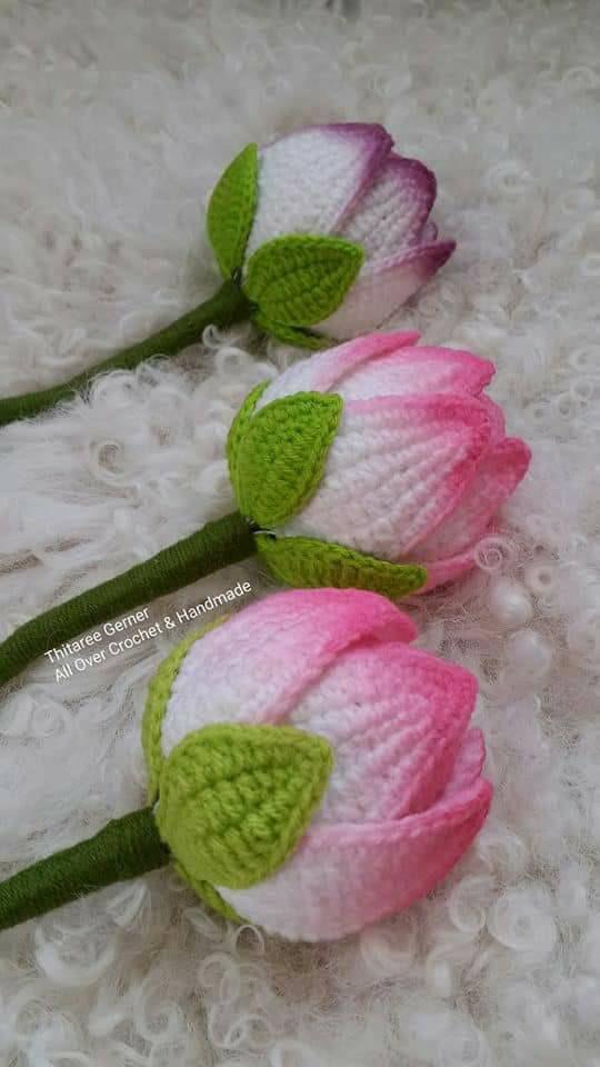Achei estas flores no Facebook FIO Maravilha