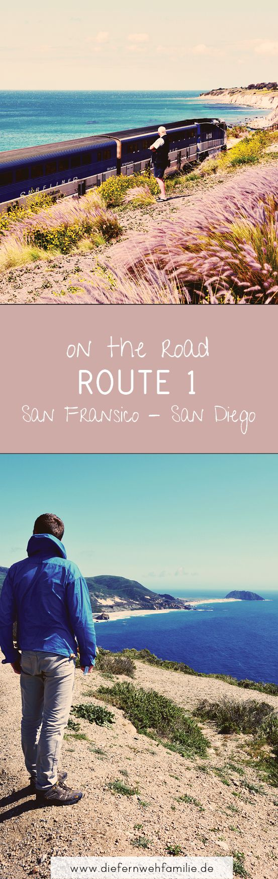 On the road -Route 1- Californien. DieFernwehFamilie
