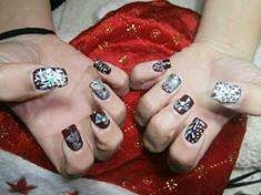 Nail art by Sofia