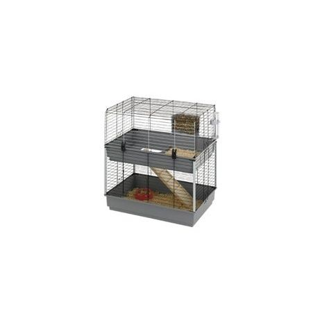 Ferplast cage Cavie 80 Double / http://www.animaux-market.com/cage-cobaye-215