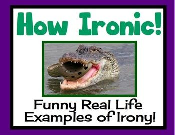 examples of irony for kids