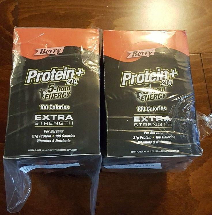 2 Boxes of 5 Hour Energy  Berry 6 oz Protein Shot Extra Strength 6 Pack Bundle    Health & Beauty, Vitamins & Dietary Supplements, Energy Bars, Shakes & Drinks   eBay!