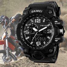 SKMEI 1155 Relógios Digitais S CHOQUE grande Mostrador Militar Do Exército Men…