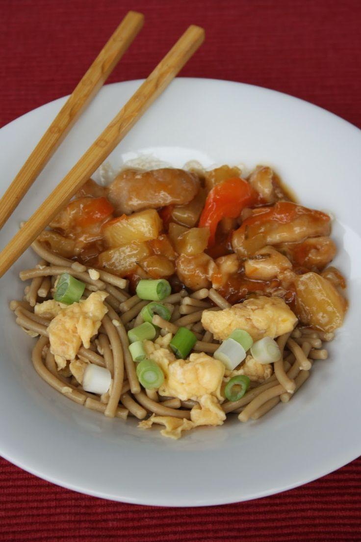BAB gluténmentes blogja: Pirított tészta édes-savanyú csirkével