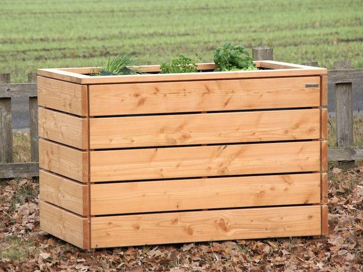 Hochbeet Mit Steinen Anlegen :  Holz na Pintereście  Hochbeet Selber Bauen, Hochbeet i Hangrutsche