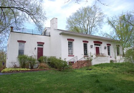 Read a fascinating history of this (possibly haunted) 1842 mansion in North St. Louis County, MO.