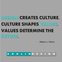 Design shapes the future.