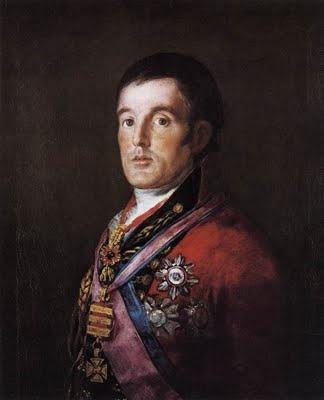 The Duke of Wellington by Goya.Goya, Francisco Goya, Male Portraits, Francisco De, Art, Celebrities Portraits, Neil Patricks, Wellington, 1St Dukes