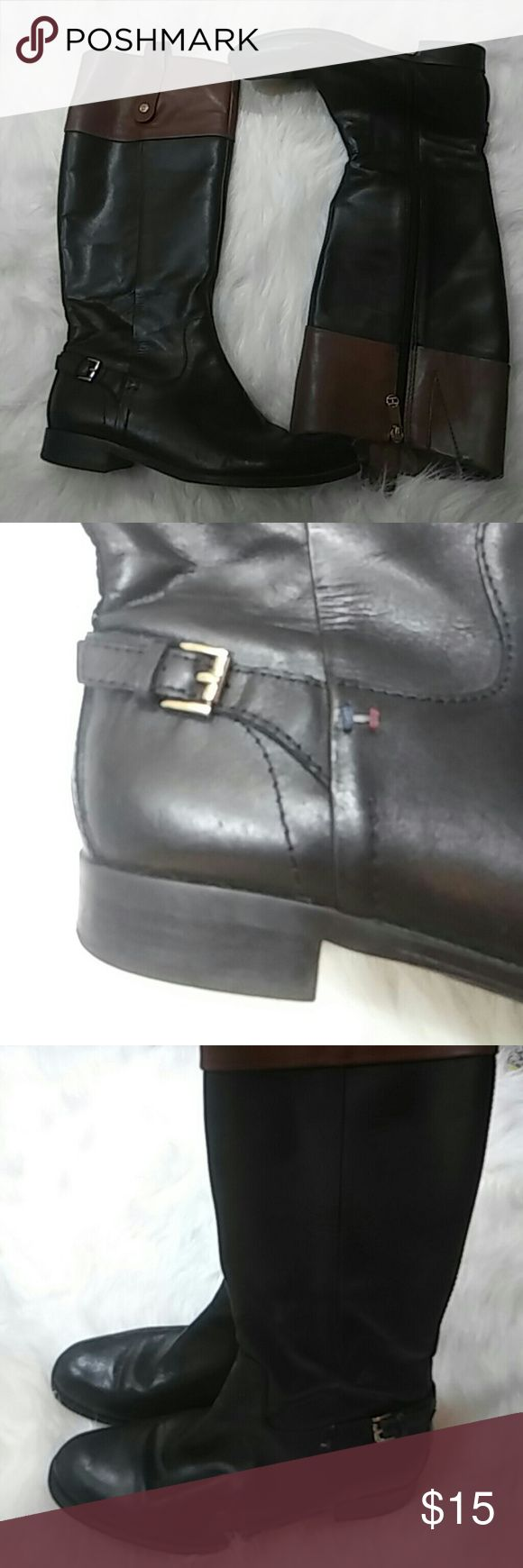 Tommy Hilfiger Boots Pre loved minor sign of wear Tommy Hilfiger Shoes Heeled Boots