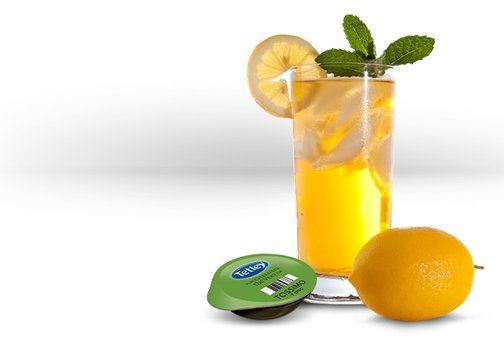 Iced Lemon Drop with Tassimo machine - Perfect when you have a cold!