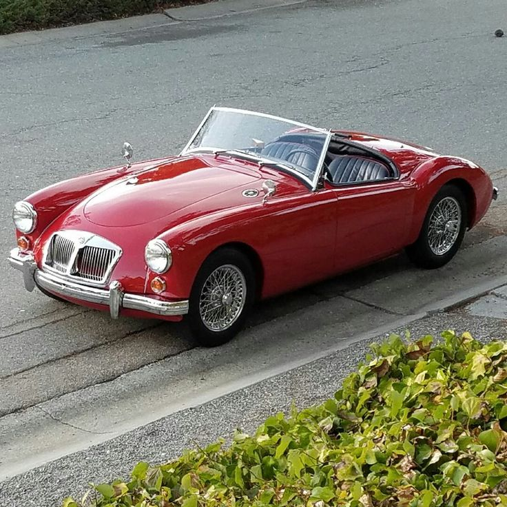 53 best MGA images on Pinterest   Br car, British car and Old school ...