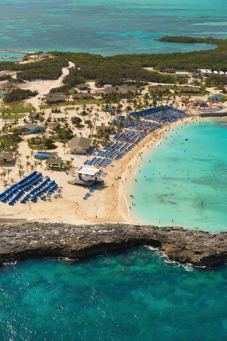 Norwegian Cruise Line's private island- Great Stirrup Cay, Bahamas http://cruiserunners.com
