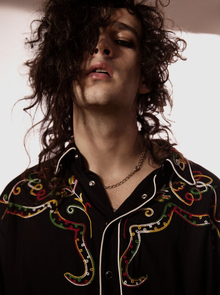 Matty Healy in the Fame Issue of Wonderland