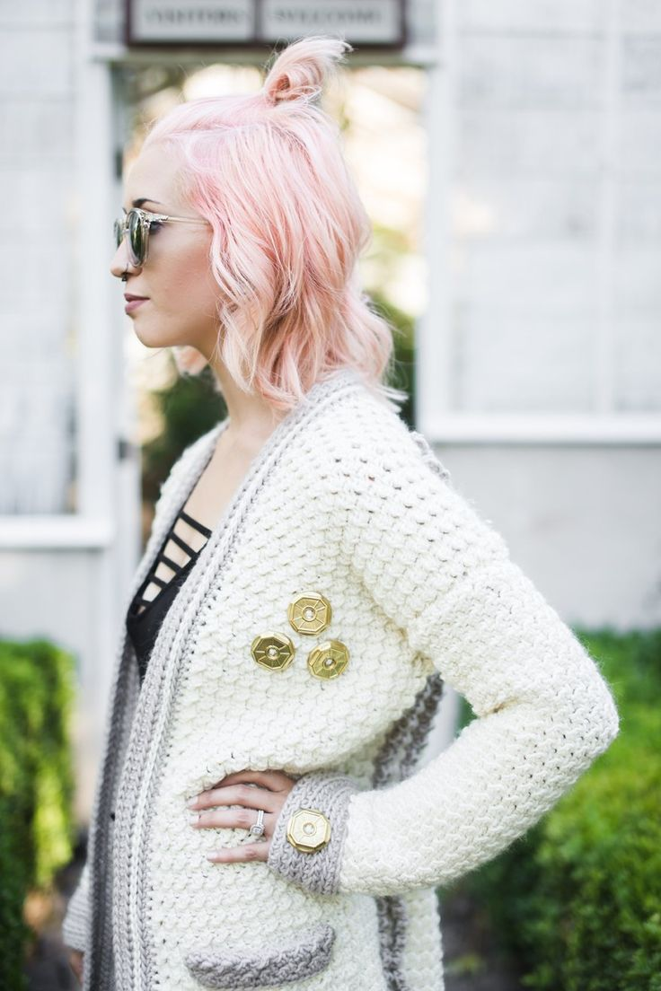 54 mejores imágenes de Crochet sweaters en Pinterest   Chaqueta ...