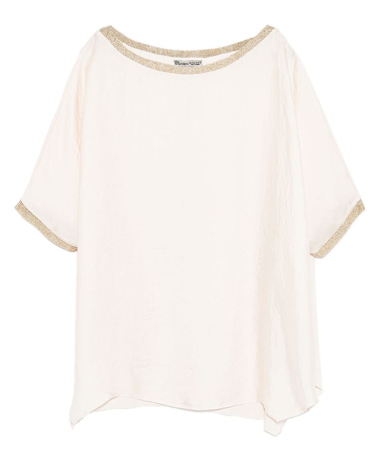 CROPPED TOP WITH BOW-Blouses-TOPS-WOMAN | ZARA United States