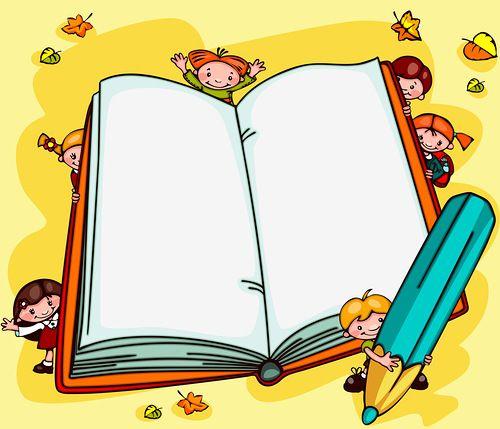 school backgrounds. Book