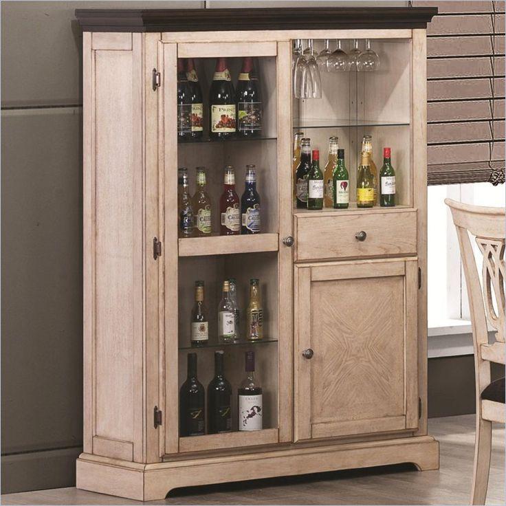 Coaster Camille Bar Curio Cabinet