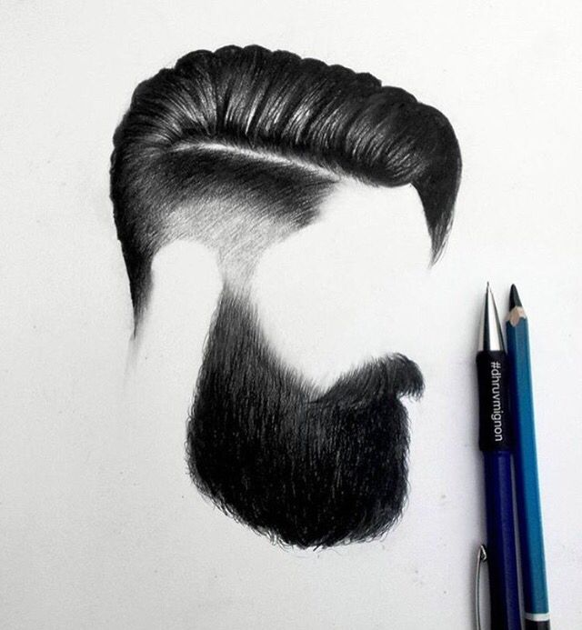 Mens hair style | Pencil drawings | Pinterest | Drawings