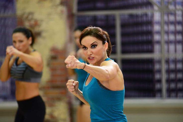 Cathe Friedrich's ICE Rockm Sockm  Kickbox Workout