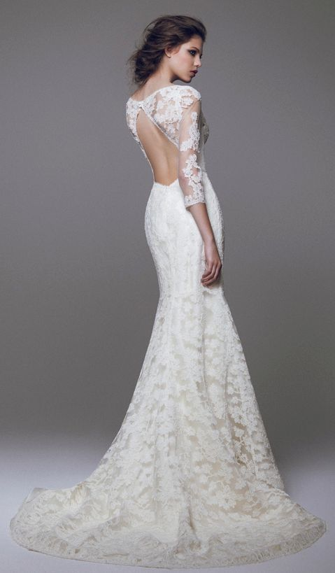 Wedding dress idea; Featured Dress: Blumarine