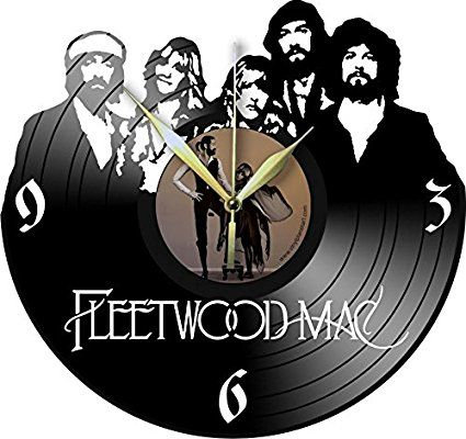 VINYL WALL CLOCK FLEETWOOD MAC