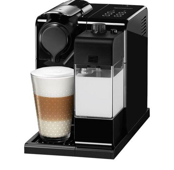 Nespresso® Latissima Touch SiyahYeni Lattissima Touch makinenin sadeliği tek tuşla dokunuşun kolaylığından kaynaklanır. Saf çizgilerden oluşan basit formlarla göz alıcı renkleri biraraya getirir.