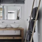 25 beste idee n over rustieke interieurs op pinterest rustieke cabine keukens modern - Kamer van rustieke chic badkamer ...