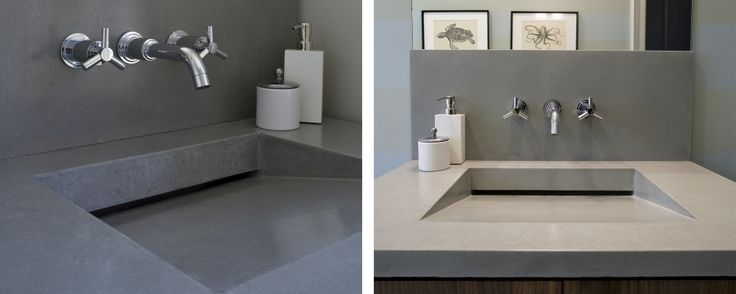 Ranch Style Sink : ... love with this style of sink. Residential: Bath Sinks Concreteworks