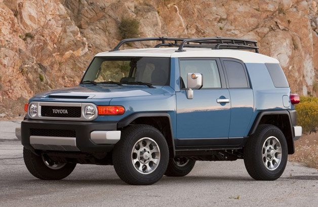 Toyota recalling FJ Cruiser due to excessively bright headlights
