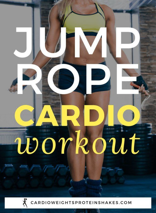Jump rope for weight loss! Use jump rope for cardio! There are so many benefits of jumping rope and exercising with jump rope. Do a 10 minute jump rope workout instead of running on the treadmill!