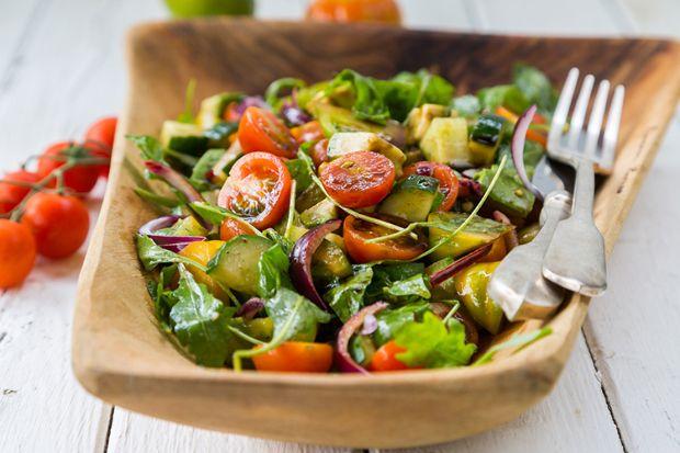 Uborkás saláták