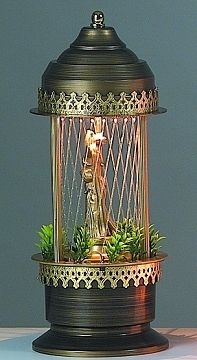 Oil Lamp! My mom had two and my grandmother and aunts all had at least one!