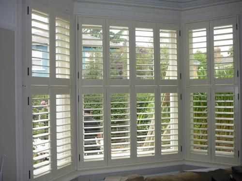 17 Best Images About Bay Window Shutters On Pinterest