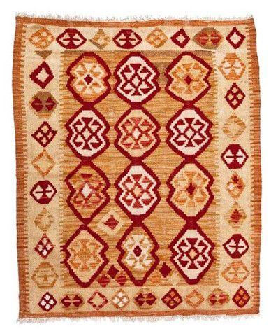 kilim - Kilim Afegão 111x93 cm.