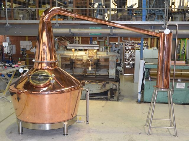 Custom Fabricated Copper Stills_1