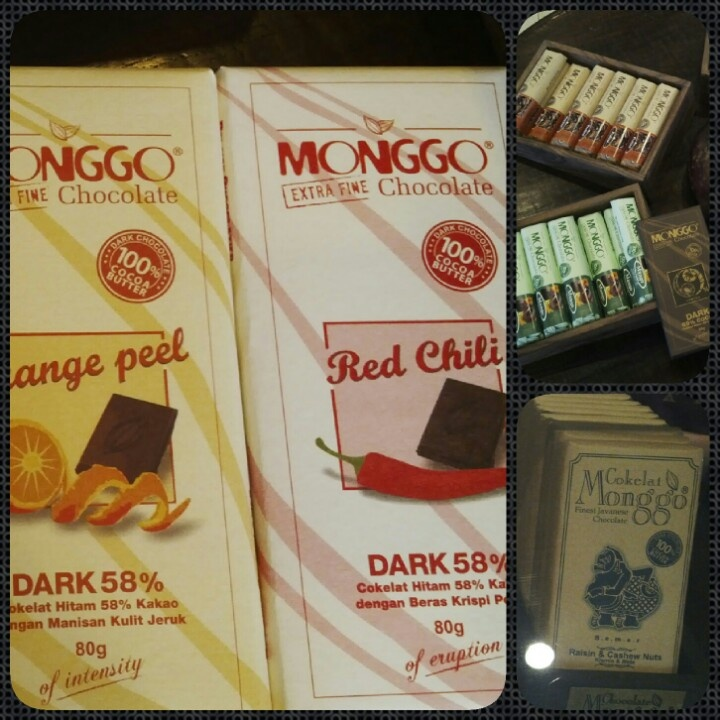 Monggo Indonesian Finest Chocolate