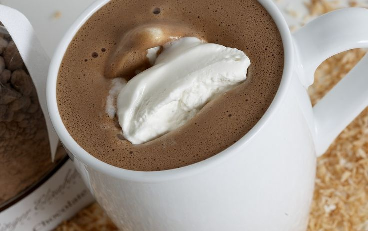 Coconut Hot Chocolate | Drinks Obsession | Pinterest