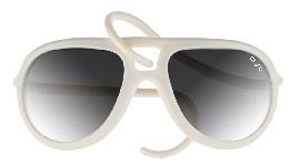 Pearl White -  Shaded Lenses