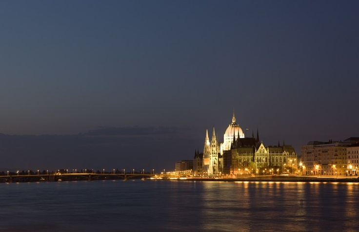 BUDAPEST - The classic river cruise destination of Budapest never looks more beautiful than from the water at night. Experience this city with Uniworld River Cruises and Titan Travel www.uniworld.com  (Photo courtesy of Uniworld Boutique River Cruise Collection)
