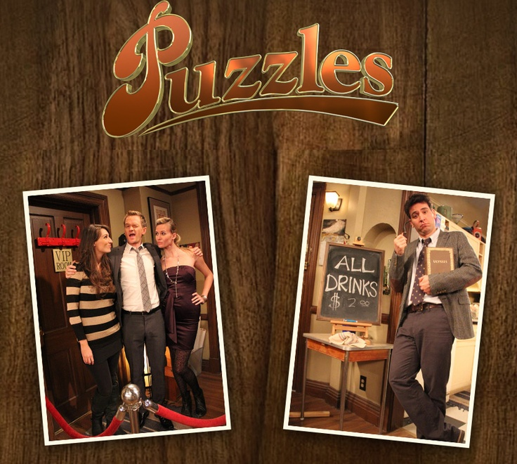 how i met your mother puzzles