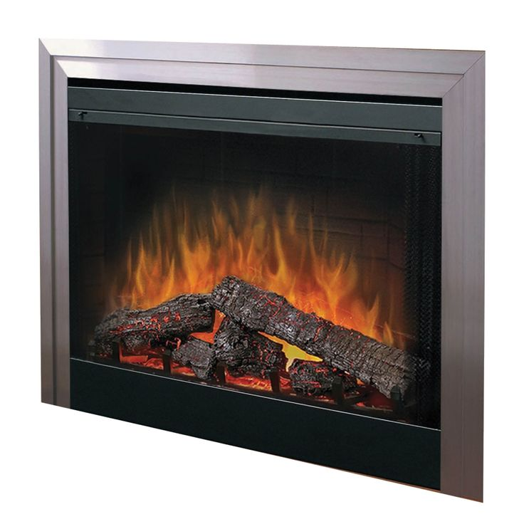 bf39 2kw inset electric fireplace with optiflame log. Black Bedroom Furniture Sets. Home Design Ideas