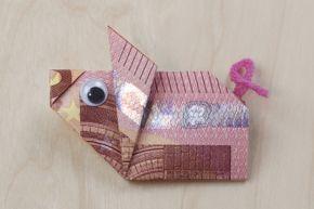 Glücksschwein... nicht nur als Geldgeschenk