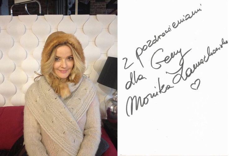 Monika Zamachowska w czapce GENY