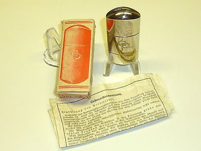 AP (ALTENPOHL & PILGRAM) VINTAGE POCKET LIGHTER - STURMFEUERZEUG - 1950- GERMANY Sammeln & Seltenes:Tabak, Feuerzeuge & Pfeifen:Feuerzeuge:Alt (vor 1970)