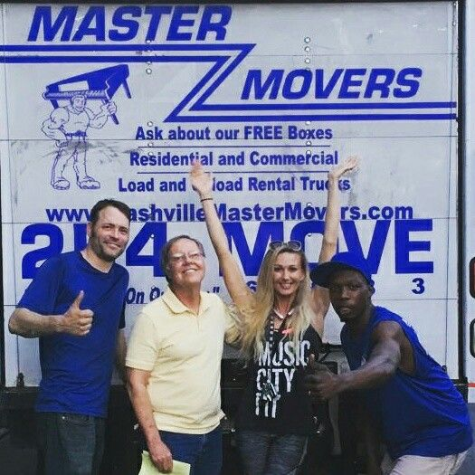 #MovingDay fun with this great crew!  Happy people are the best!  #beauty #Nashville #lovemyjob #goodpeople #anotherone #movingtonashville