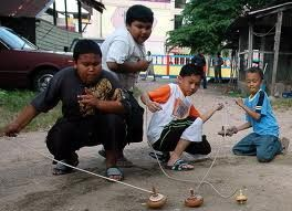 Gasiang,  Traditional Game West Sumatra
