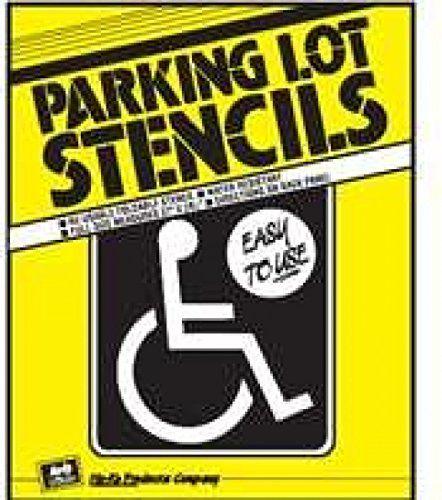 Handicap Park Stencil HY-KO Products http://www.amazon.com/dp/B002YGL2GO/ref=cm_sw_r_pi_dp_vBrdwb1B4H0KD